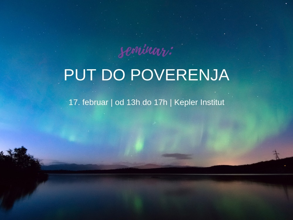 Seminar: Put do poverenja